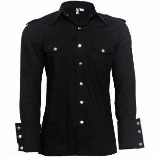 Attitude Clothing - Alternative, Gothic, Punk, Rock Clothing, Shoes, Brands + Accessories - Necessary Evil Slaine Men's Shirt