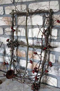 pomysły na proste dekoracje bożonarodzeniowe za darmo - simple and no-cost decoration for christmas
