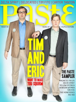 Tim and Eric Paste Cover.
