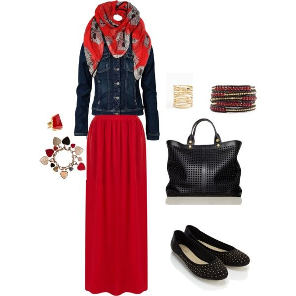"""""""HijabzNstyle"""" by miraok on Polyvore"""