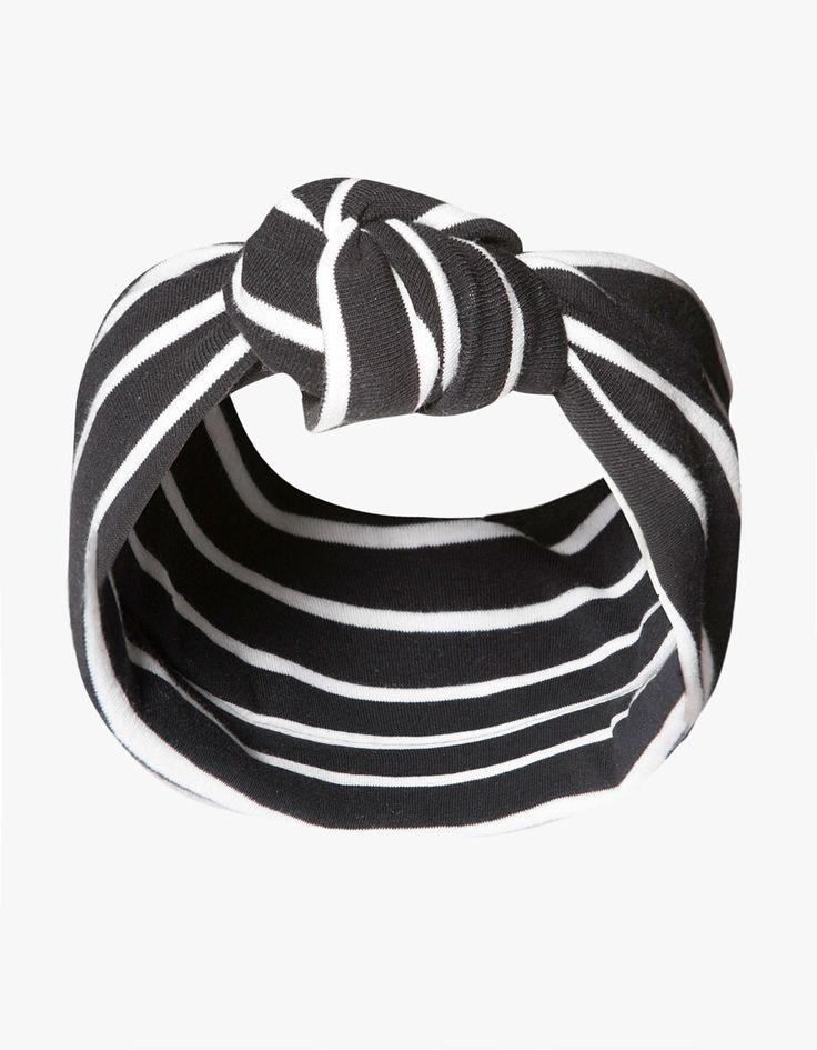 panier vans femme - Serre-t��te semi-turban rayures | LIKES | Pinterest