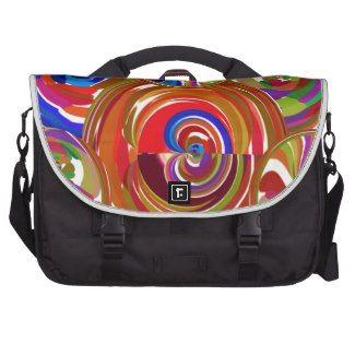 Positive Aura : Active Energy Circles Laptop Bag