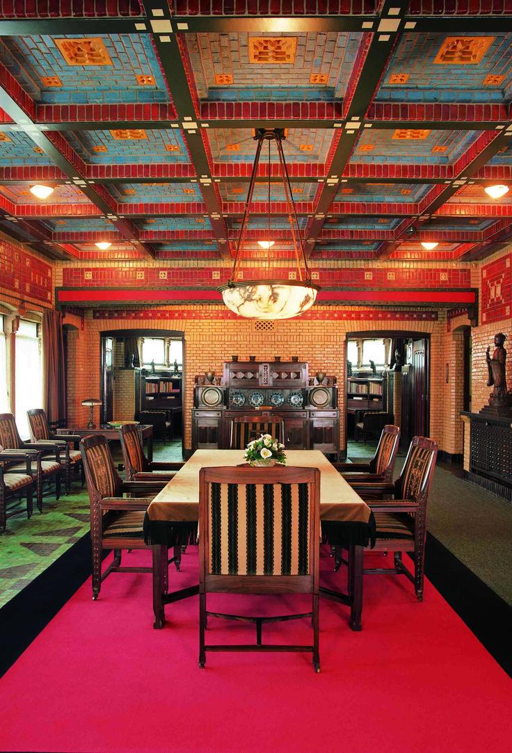 Jachthuis Sint Hubertus | Hoenderloo | Stichting het Nederlandse interieur