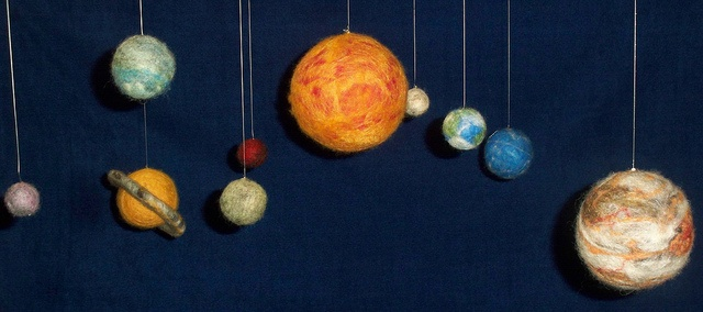Felted Solar System!