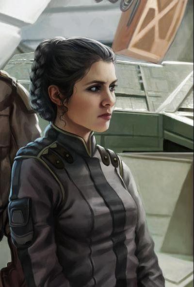 Princess Leia Organaby Tricia Barr.