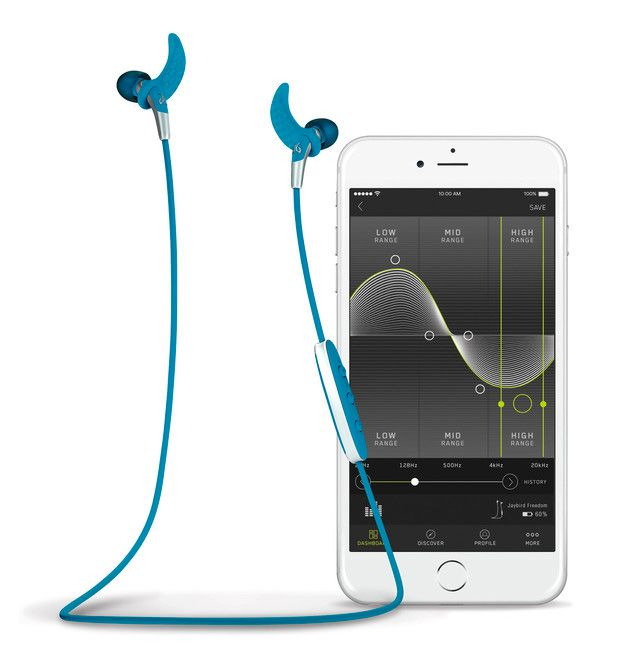Jaybird Freedom Wireless Buds --Jaybird makes some of the best workout-worthy earbuds. Their wireless bluetooth buds stay put even when you're dripping sweat and suffering through burpees or miles on the treadmill. The newest model, called the Freedom is even smaller and features a new design that sits flush in your ear for a comfortable fit even with helmets & hats. $199