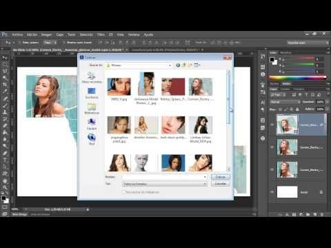 Curso Photoshop CS6 Capítulo 3 - 41 Objetos Inteligentes Reemplazo de Imágenes - YouTube