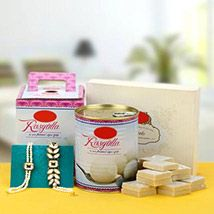 Sweets with Kundan Bhaiyya Bhabhi Rakhi