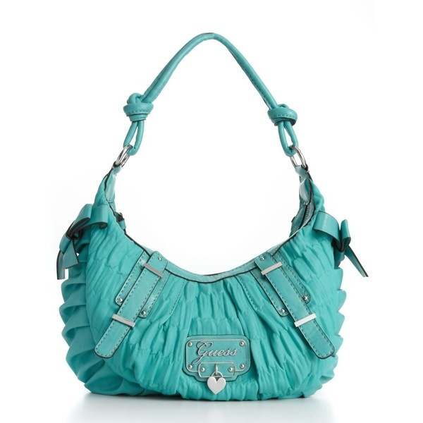 Guess Handbag, Emelie Small Hobo Bag, found on polyvore.com