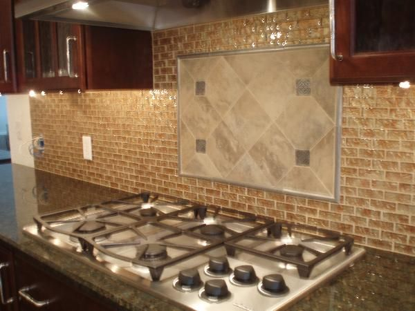 Kitchen Backsplash With Cherry Cabinets 15 best backslash images on pinterest | backsplash ideas, kitchen