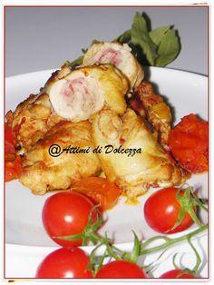 COSCE DI POLLO RIPIENE IN PADELLA / STUFFED CHICKEN LEGS IN PAN