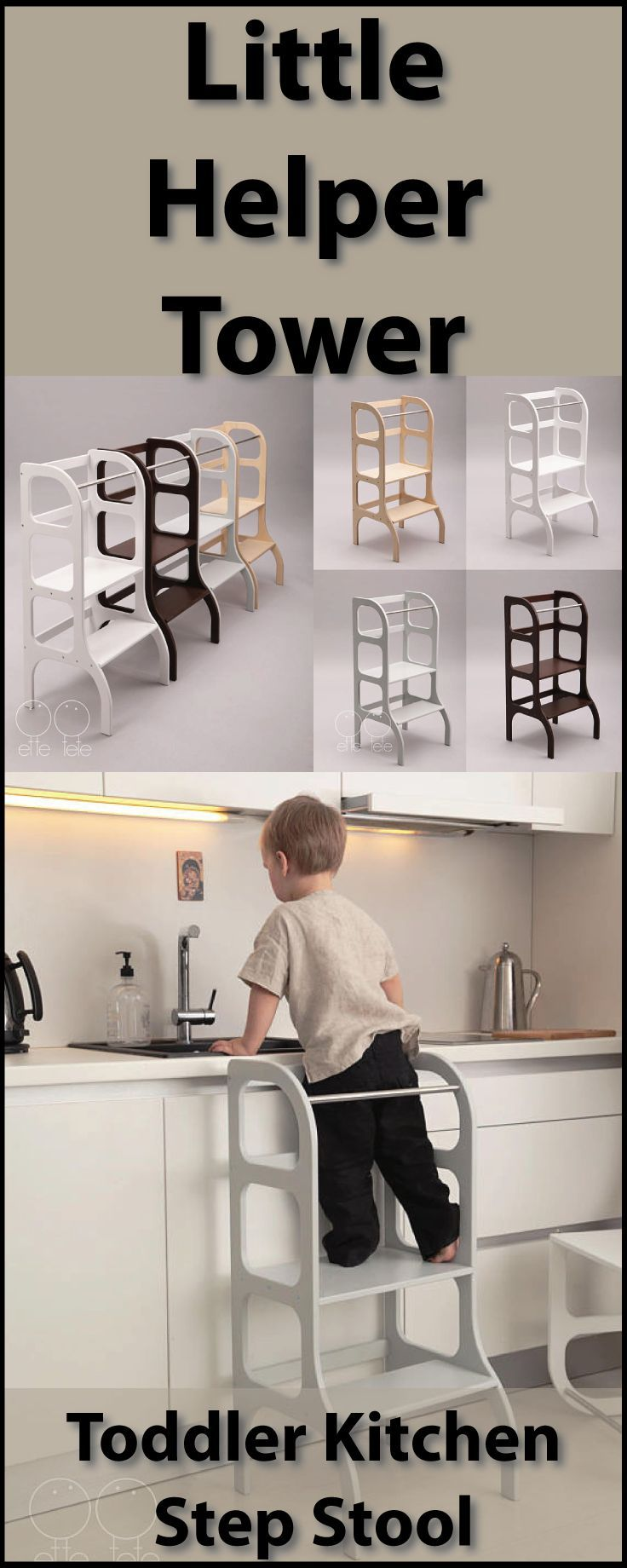 25 unique toddler kitchen stool ideas on pinterest for Kitchen helper stool