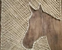 horse string art - Google Search