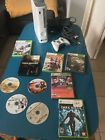 Xbox 360 20 GB Console Microsoft White w/ Controller and 10 Game Bundle!