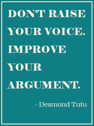 I'm not yelling...I am projecting my voice and moving my hands. Choose your words carefully...........words hurt