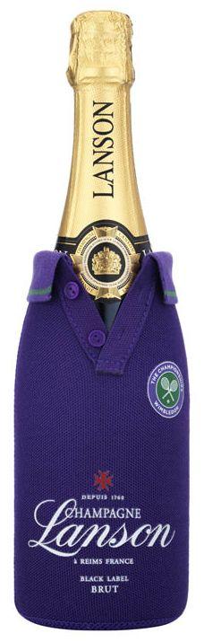 Lanson Black Label Brut Champagne Wimbledon Jacket NV 75cl