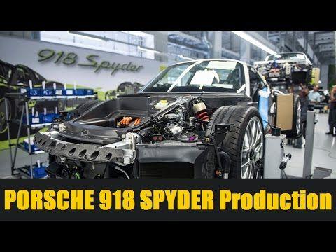 КАК ЭТО СДЕЛАНО | Porsche 918 Spyder Production | СБОРКА АВТОМОБИЛЯ