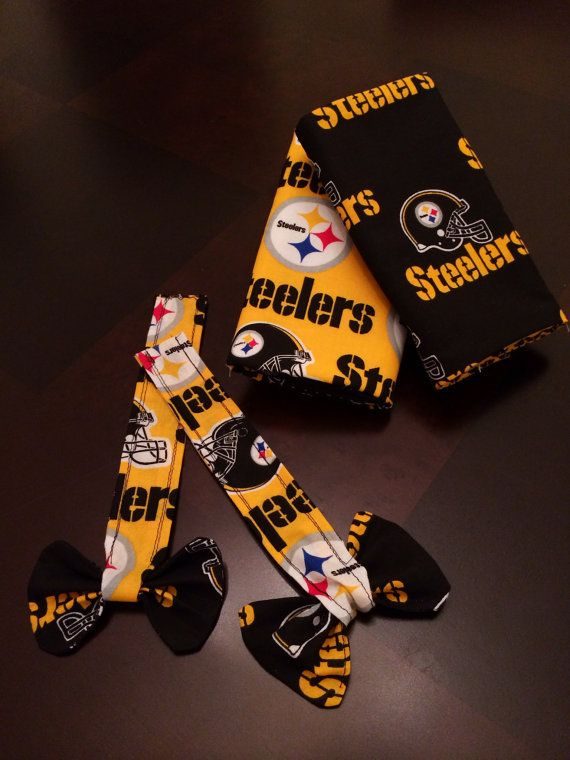 Baby Carrier Drool Pads in NFL Steeler's by TheSucklingDuckling #football #steeler's #babywearing  https://www.etsy.com/listing/224489526/baby-carrier-drool-pads-in-nfl-steelers?ref=shop_home_active_9