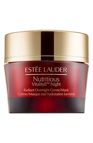 Estée Lauder 'Nutritious Vitality8™ Night' Radiant Overnight Creme/Mask available at #Nordstrom