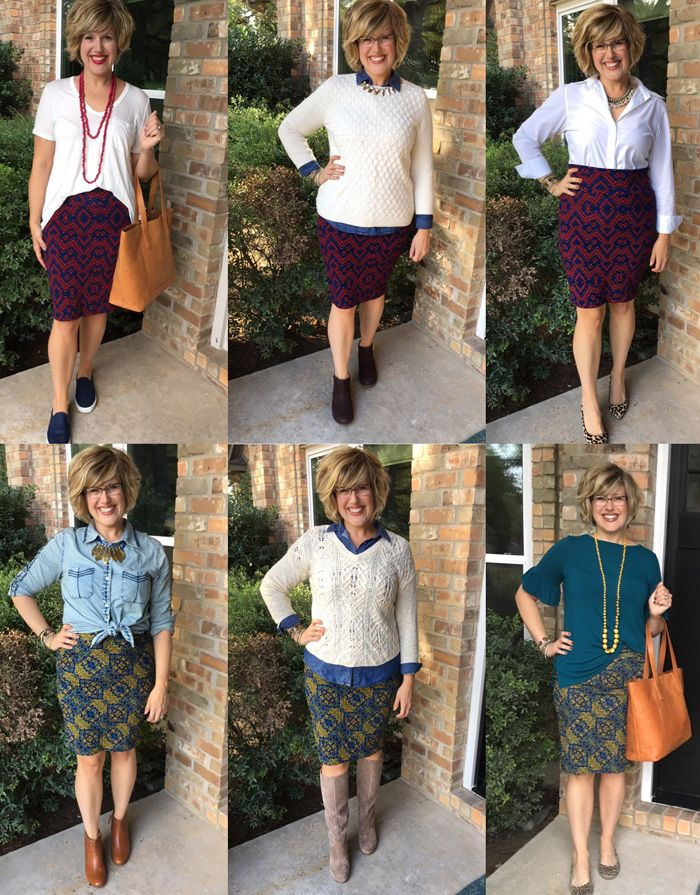 LulaRoe lots of ways! I know, I know. I held out a long time. I really didn't want to jump on the LulaRoe bandwagon. But...I came acros...