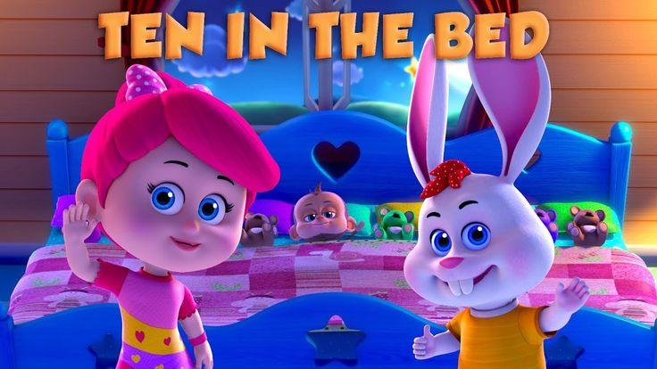 Ten in the Bed | Number Song | Nursery Rhymes and Baby Songs from Betty and Bunny