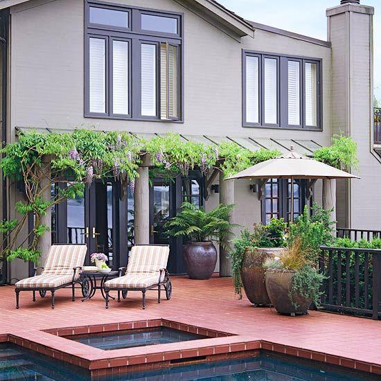 Regeln attraktive Gartengestaltung übertöpfe pflanzkübel