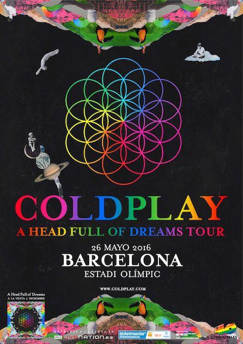 coldplay barcelona 2016 - Google-haku