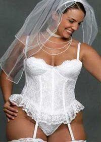LENCERIA PARA NOVIAS GORDITAS #weddinglingerie