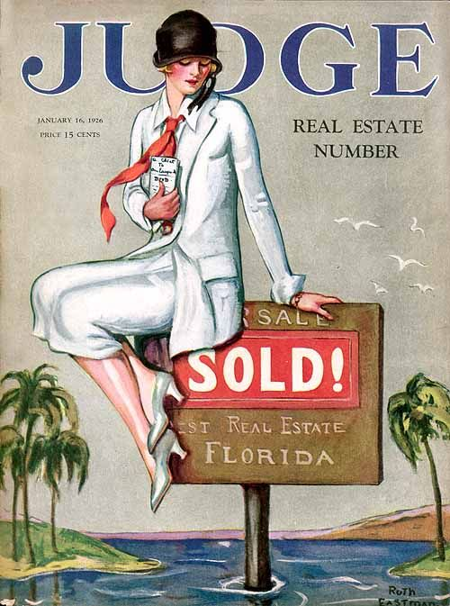 Image result for vintage real estate art