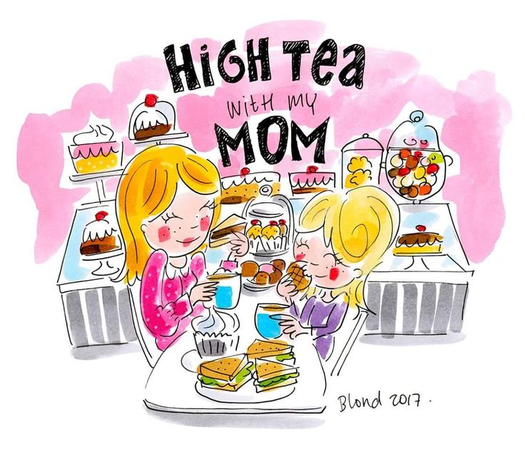 High tea with my mom / mothersday - Blond Amsterdam 2017