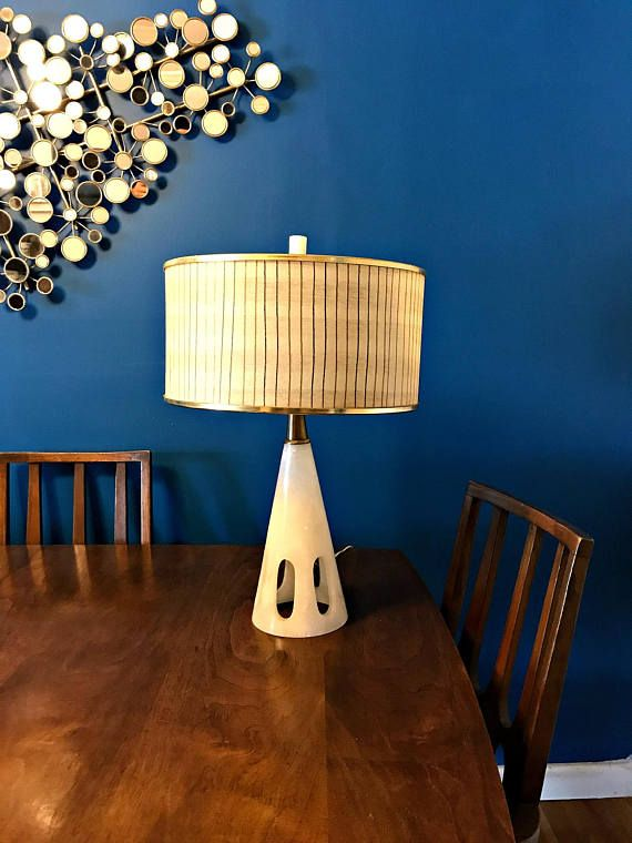 Amazing Mid Century Modern Cone Shaped Table Lamp Quartz Lamp Etsy Mid Century Modern Table Lamps Mid Century Modern Mcm Decor