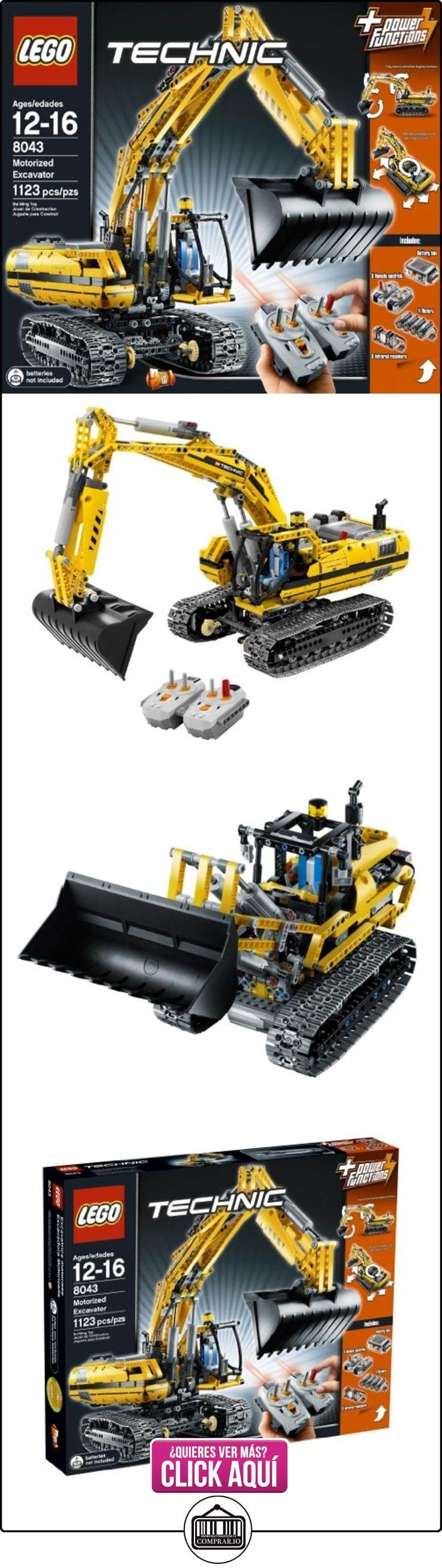 LEGO Technic Motorized Excavator 1127pieza(s) - juegos de construcción (Multicolor)  ✿ Lego - el surtido más amplio ✿ ▬► Ver oferta: https://comprar.io/goto/B003F82N0O