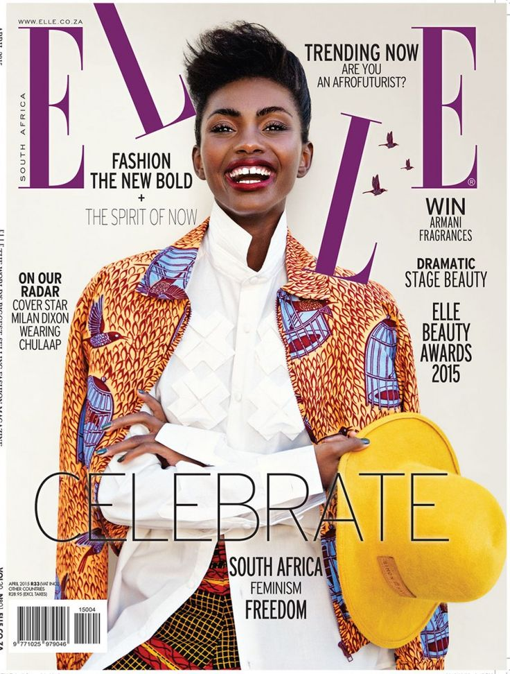 Elle SA Cover - April 2015