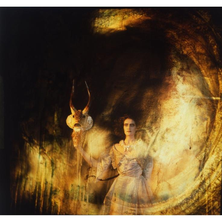 Holly Warburton 2012 黒百合姉妹 - 森羅万象の聲 [Sibylla SBYLCD-03] original artwork title: Diana the Huntress #albumcover