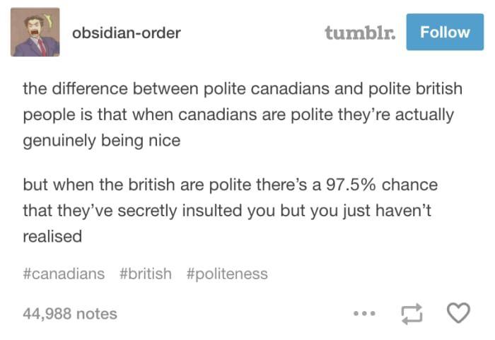 22 Fucking Funny Tumblr Posts Every British Person Will Appreciate
