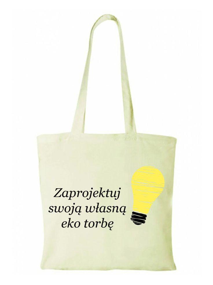 Wyróżnij się z tłumu! Stwórz swoją eko torbę !