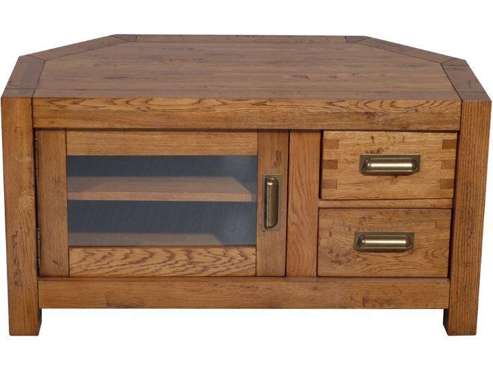 Corner Tv Stand Designs : Oak corner tv cabinet woodworking projects plans