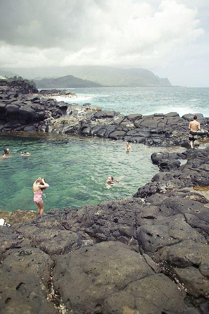 Queens bath, Kauai, Hawaii.