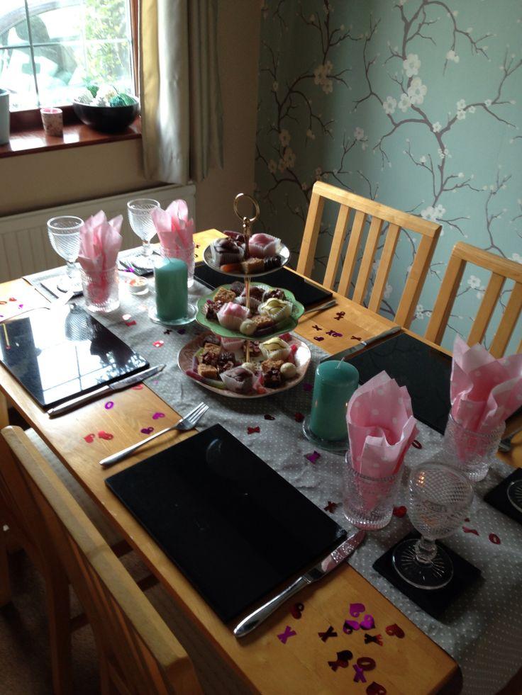 Hen tea party!