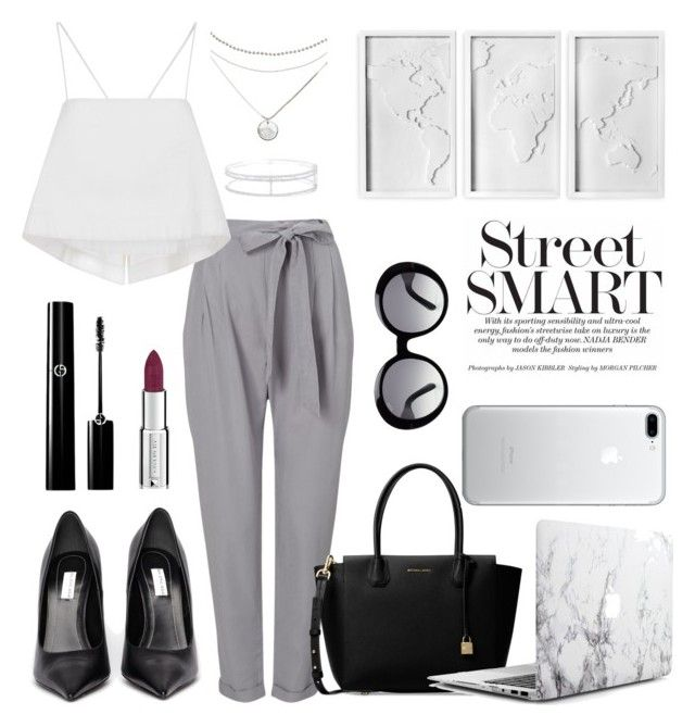 """125. Trousers"" by coeurdalenee on Polyvore featuring Phase Eight, Michael Kors, A.L.C., Balenciaga, Effy Jewelry, Givenchy, Tod's and Umbra"