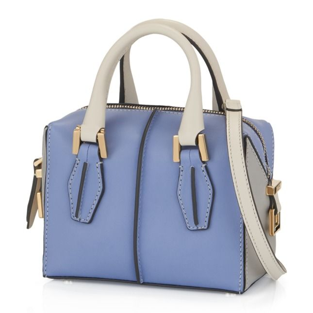 My dream bag: Tod's D-Cube micro bowler bag.