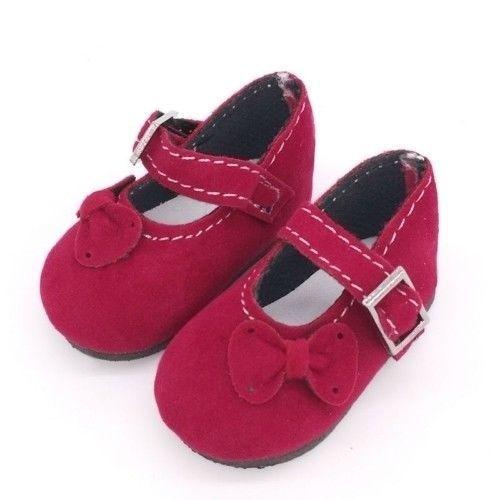 Chaussure compatible Paola Reina corolle les chéries Liz Frost rouge sang 6 CM