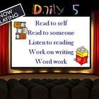 Here is a FREE 49 slide Daily 5 Beginning of the Year Powerpoint that we use in our intermediate classroom.