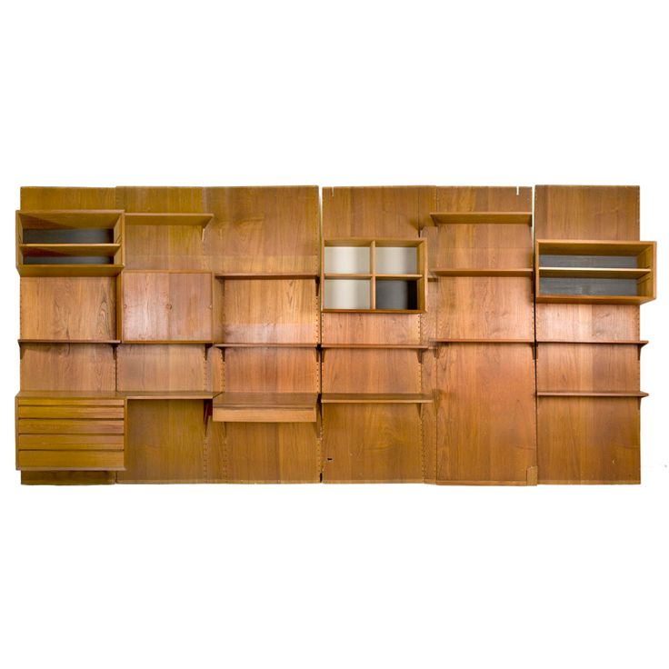 Scandinavian Bookshelves By Paul Cadobius | From a unique collection of antique and modern shelves at http://www.1stdibs.com/furniture/storage-case-pieces/shelves/