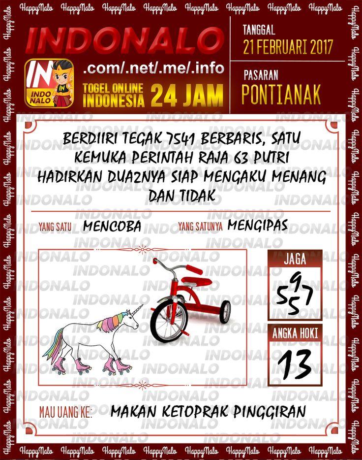 Taysen Hoki 6D Togel Wap Online Live Draw 4D Indonalo Pontianak 21 Februari 2017
