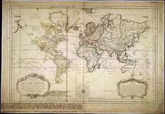 Map of the world Ancient map Old world maps 25 by mapsandposters, $9.99