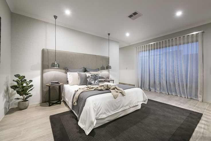 The Sanctuary offers an amazing master bedroom including its own separate entry foyer to create a private and luxurious retreat.