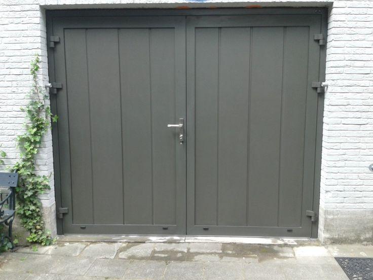 Openslaande garagedeuren te Breda - Different Doors