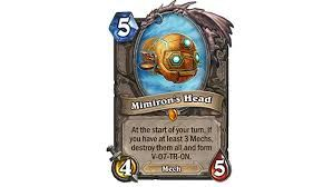 Future Professional Hearthstone Player And These Are The Legendaries I Own......  **Gold Bordered Mimiron's Head** P.S: The Cards Do Not Make or Break a Player...Its How You Use The Cards You Have That Shows The True Skill Of A Player.