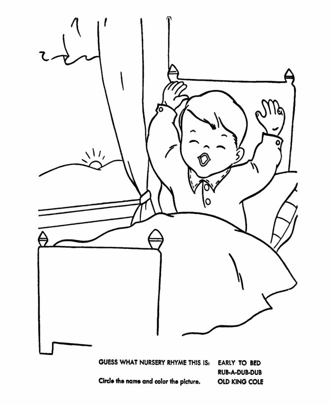 bed coloring page 48 best images about clipart on pinterest coloring for adults
